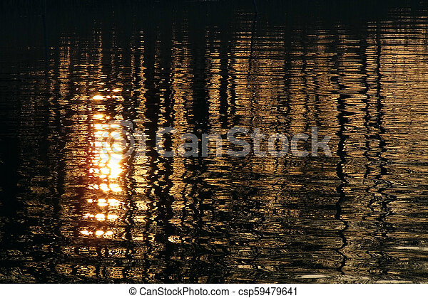Water ripples - csp59479641