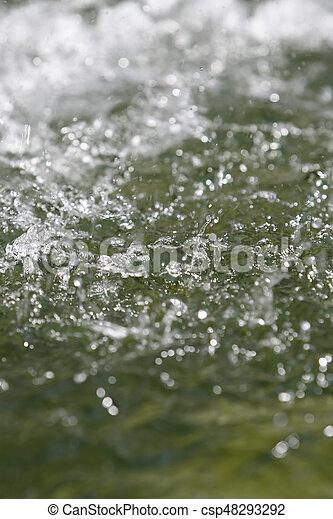 Water ripples - csp48293292