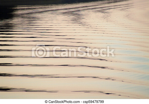 Water ripples - csp59479799