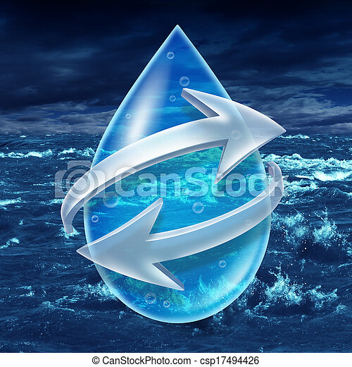 Water Sanitation - csp17494426