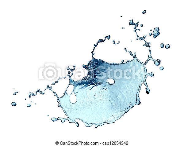 Water Splash Abstract - csp12054342