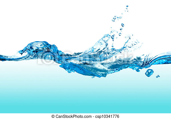 Water Splash. - csp10341776