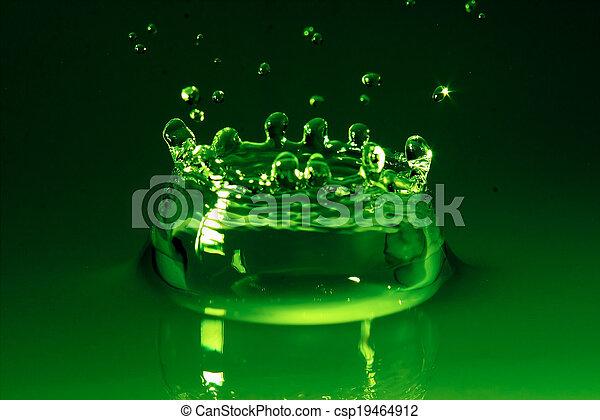Water splash - csp19464912