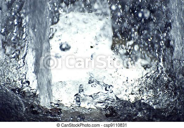 Water splash - csp9110831