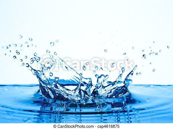 water, splash. - csp4616875