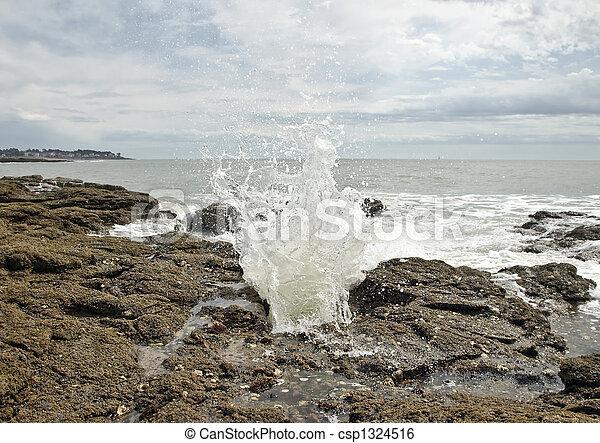 Water splash - csp1324516