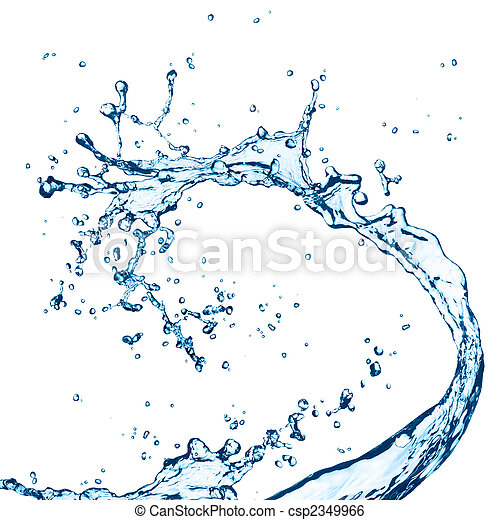 water splash - csp2349966