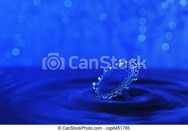 water splash - csp6451765