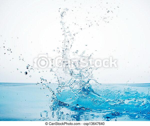 water splash - csp13647640