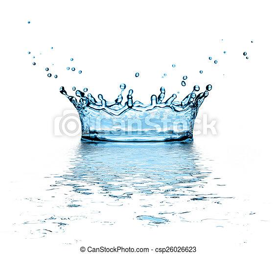 water splash - csp26026623