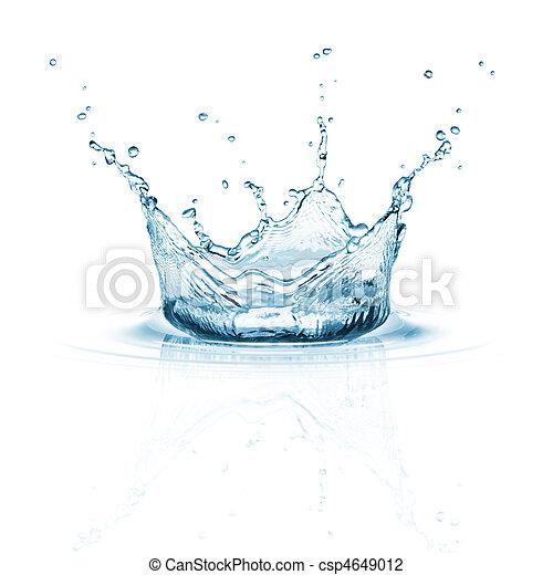 water splash - csp4649012