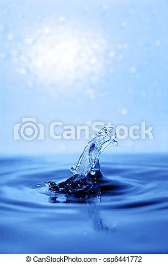 water splash - csp6441772