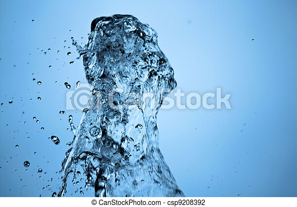 Water splash - csp9208392
