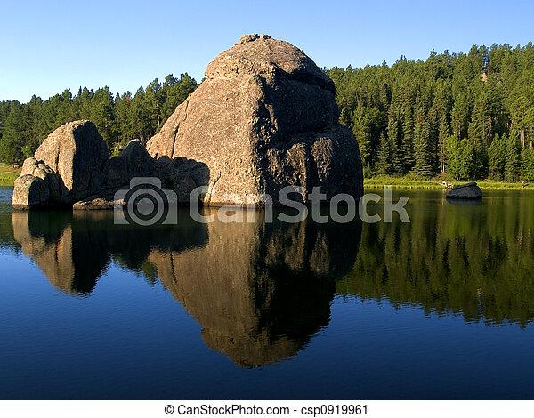 Water Stone - csp0919961