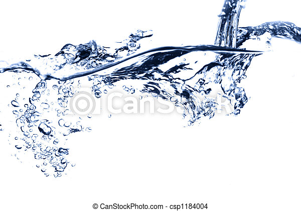 water stream falling - csp1184004