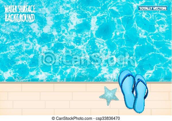 Water surface - csp33836470