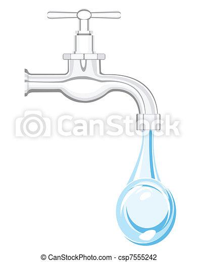water tap - csp7555242
