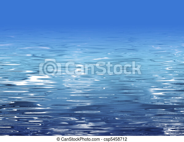 Water texture - beach illustration - csp5458712