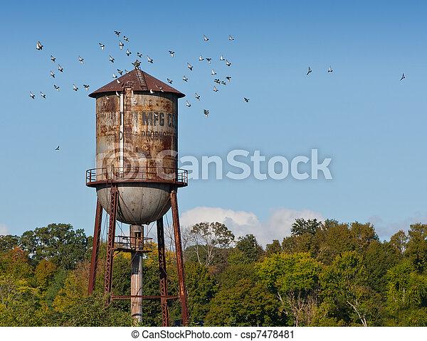 Water Tower - csp7478481