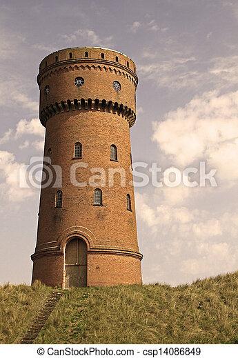 Water Tower - csp14086849