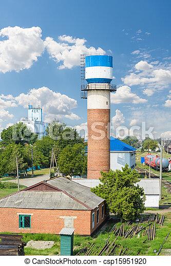 Water tower - csp15951920