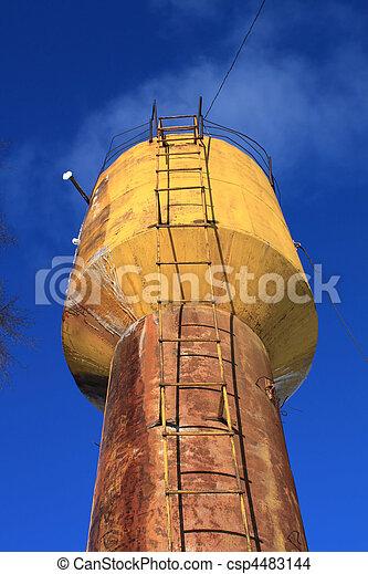 water tower - csp4483144