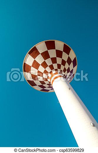 Water Tower - csp63599829