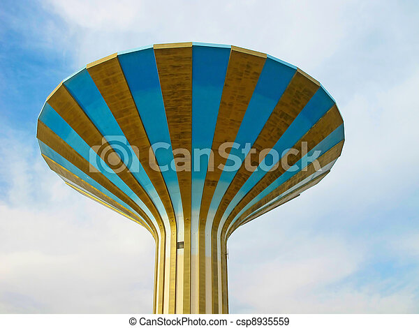 Water tower - csp8935559