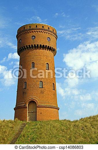 Water Tower - csp14086803