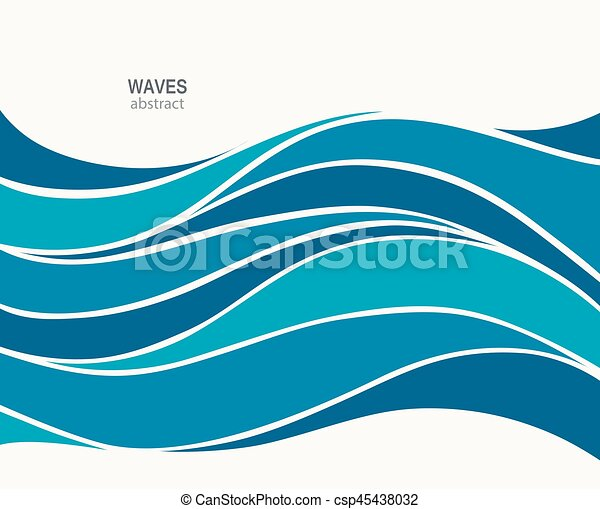 water wave logo abstract design cosmetics surf sport vectors rh canstockphoto com wave vector free wave vector art free