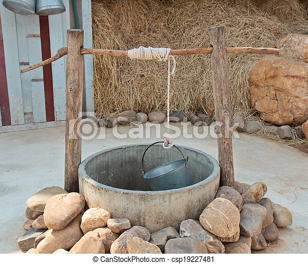 water well - csp19227481