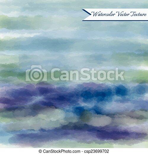 Watercolor abstract texture - csp23699702