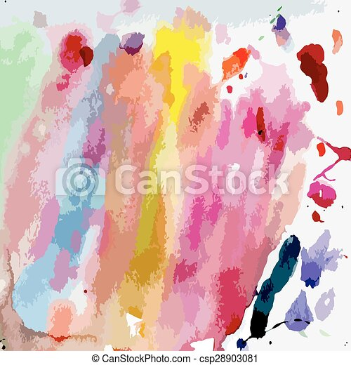 Watercolor background for your design - csp28903081