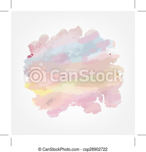Watercolor background for your design - csp28902722