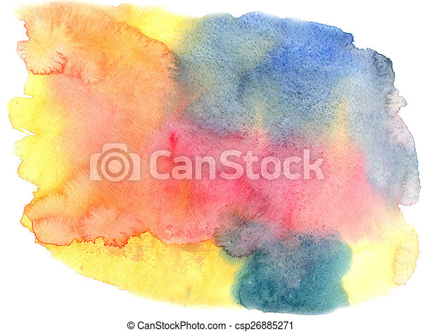 watercolor background - csp26885271