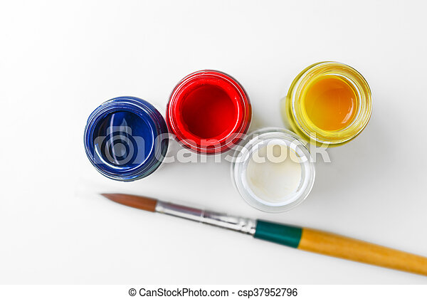 watercolor bottle - csp37952796