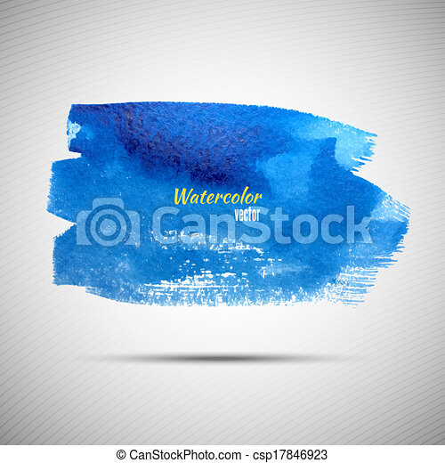Watercolor grunge background for your design - csp17846923
