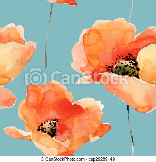 Watercolor illustration - csp29289149