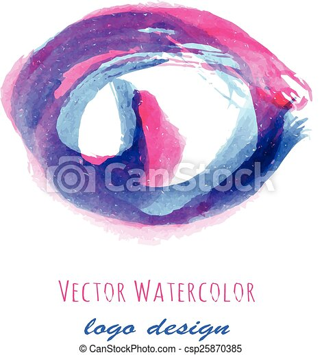 Watercolor Logo Design