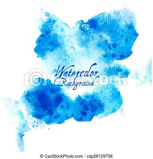 watercolor, ontwerpen basis - csp26129756