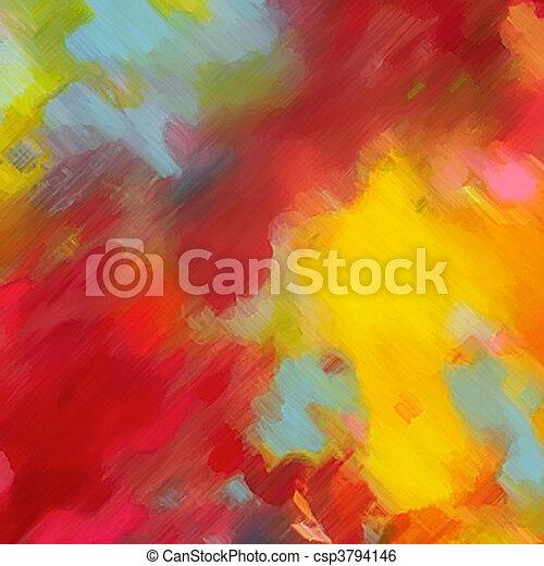 watercolor - csp3794146