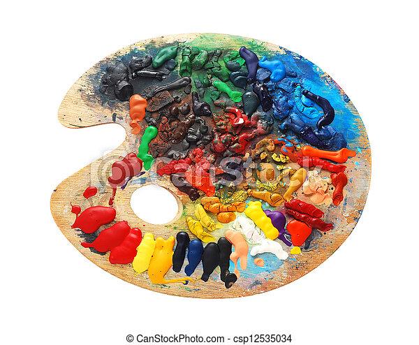 watercolor - csp12535034