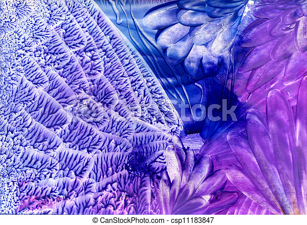 watercolors abstract blue background in the manner of spirals - csp11183847