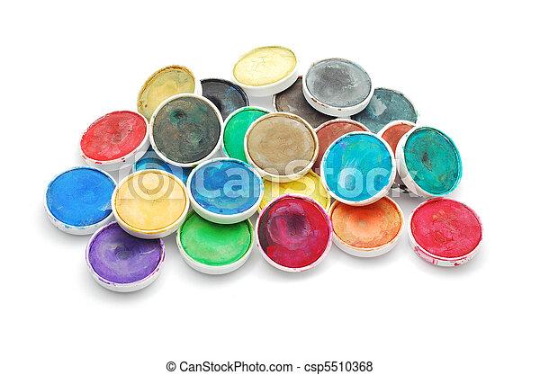 watercolors - csp5510368