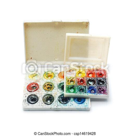 watercolors - csp14619428