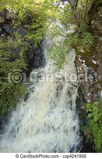 Waterfall at Dunvegan - csp4241956