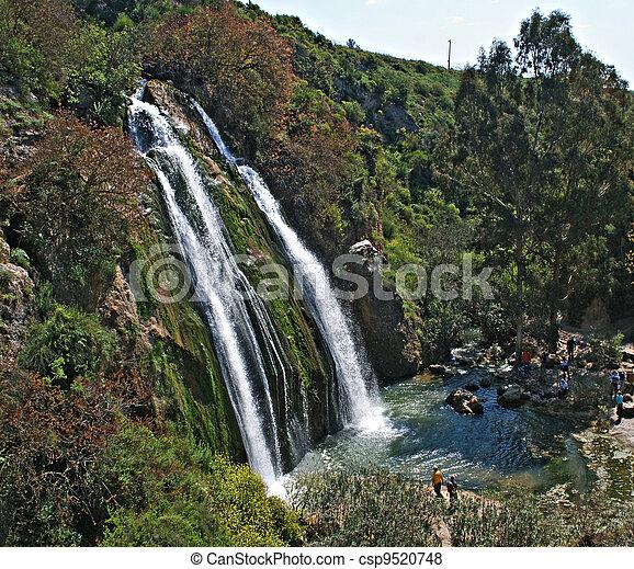 waterfall at Israel - csp9520748