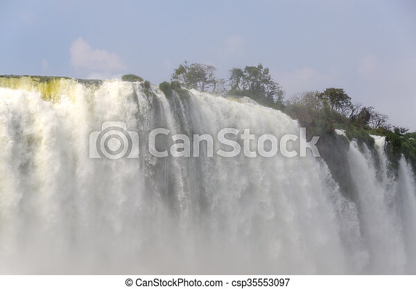waterfall Iguacu - csp35553097