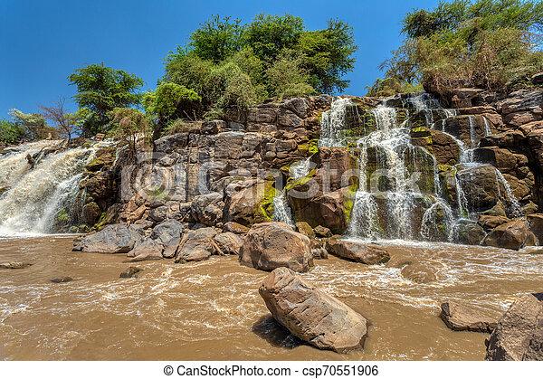 waterfall in Awash National Park - csp70551906