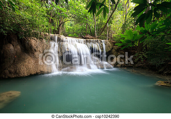 Waterfall in National Park - csp10242390
